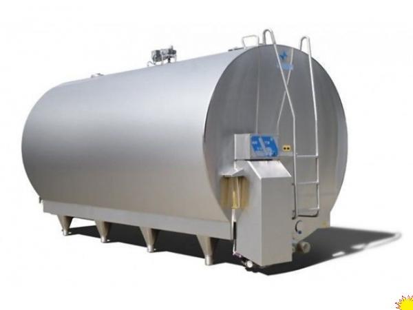 Охладитель молока - закрытого типа NewMilk, 5000 л