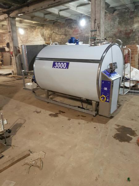 Охладитель молока закрытого типа ОМЗТ - на 3000 литров