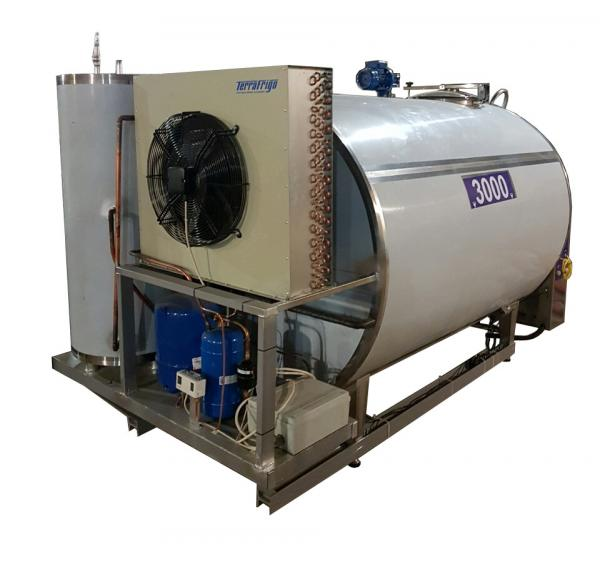 Охладитель молока - закрытого типа ОЗ 3000 S\P