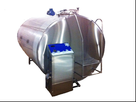 Охладитель молока - закрытого типа объёмом 4000 л