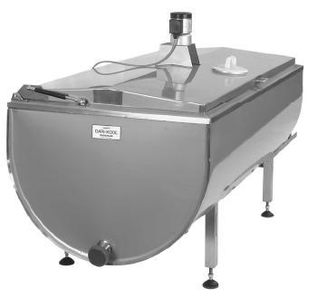 Охладители молока - открытого типа (ванны-охладители) DELTA-X