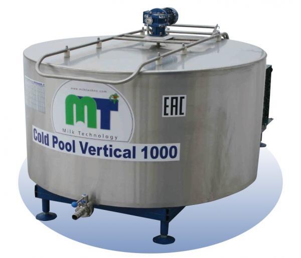 Охладители молока - серии Cold Pool Vertical, 400 - 2500 л