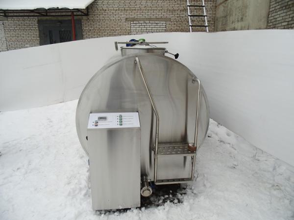 Охладители молока - серии Cold Vessel, 2500 - 6000 л