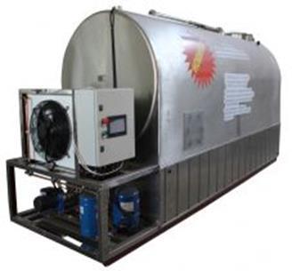 Охладители молока со встроенным льдоаккумулятором
