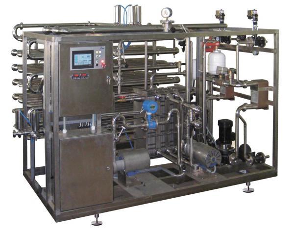 Паровая пластинчатая пастеризационно-охладительная установка - для молока, соков, вин