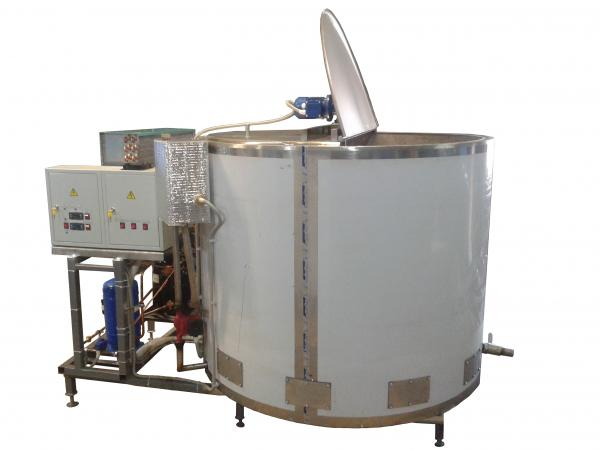 Пастеризационно холодильная установка - 500 л, 750 л, 1000 л, 1500 л