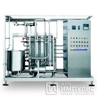 Пастеризационно-охладительная установка - для молока Nikos