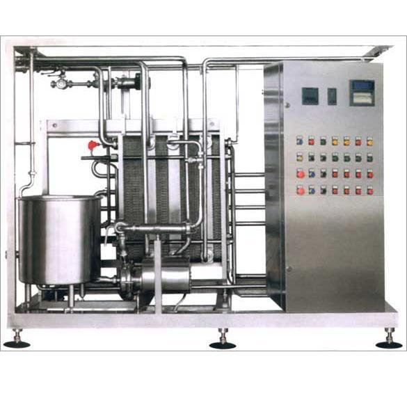 Пастеризационно-охладительная установка производительностью 10 т/час - для кефира