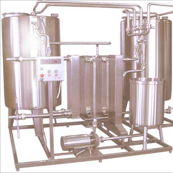 Пастеризационно-охладительная установка производительностью 3 т/час - для молока