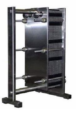Пластинчатый теплообменник - для охлаждения молока ООЛ-3
