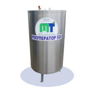Рекуператор для нагрева воды - от установки охлаждения молока