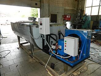 Резервуар-охладитель 2000 литров - открытого типа