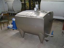 Резервуар-охладитель молока - открытого типа