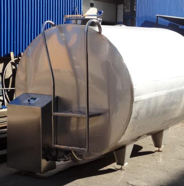 Резервуар-охладитель молока - закрытого типа ОМО-2,5 / ОМО-3,5 / ОМО-5,0