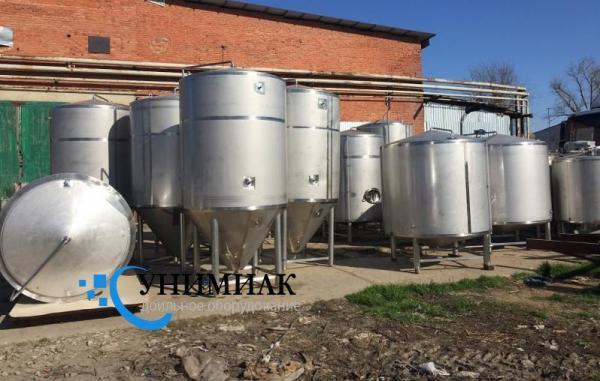 Резервуары для кисломолочных продуктов Я1-ОСВ