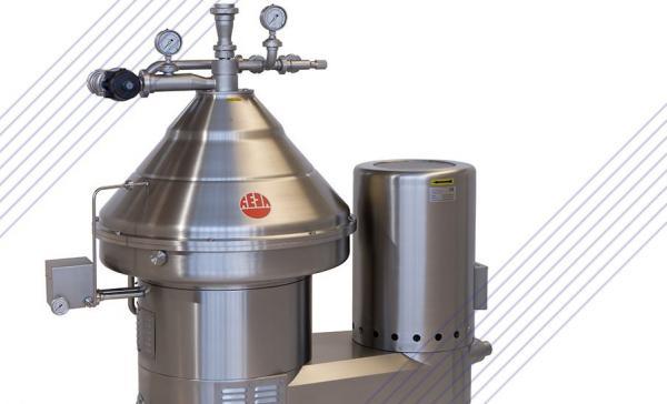 Сепаратор-очиститель RE100P - для молока