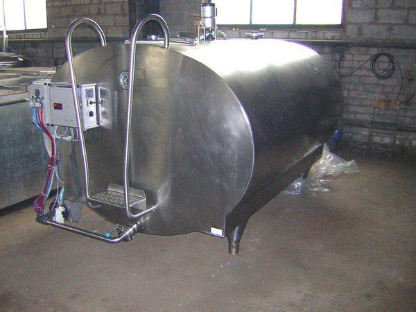 Танк- охладитель молока - «Pionier» фирмы «Muller».