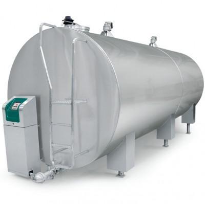 Танк-охладитель молока объемом - от 1 010 до 33 500 литров