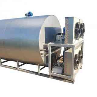 Танк-охладитель - закрытого типа горизонтальный 8,0 м3