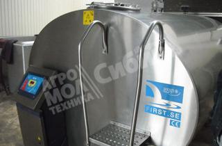 Танки-охладители молока - закрытого типа