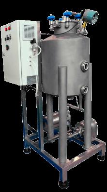 Установка деаэрационная тип УД - для удаления воздуха из молока