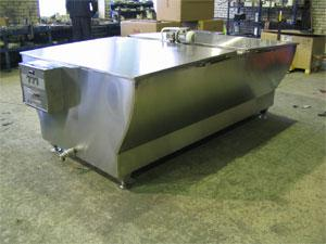 Установка для охлаждения молока - открытого типа УОМ 1000