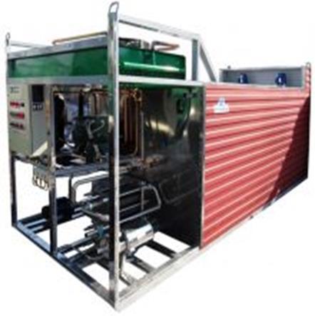 Установка мгновенного охлаждения молока ГЛВ-40000ПЛН