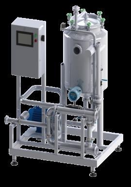 Установка приемки молока тип УПМ