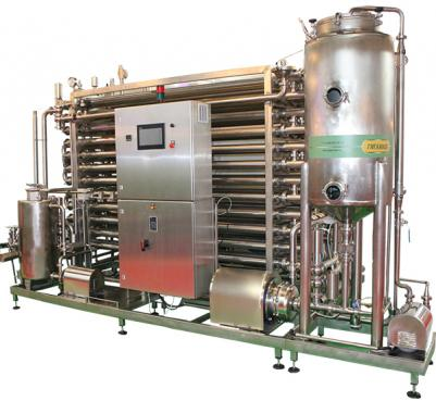 Установка стерилизационно - охладительная тип СОУ - для молока
