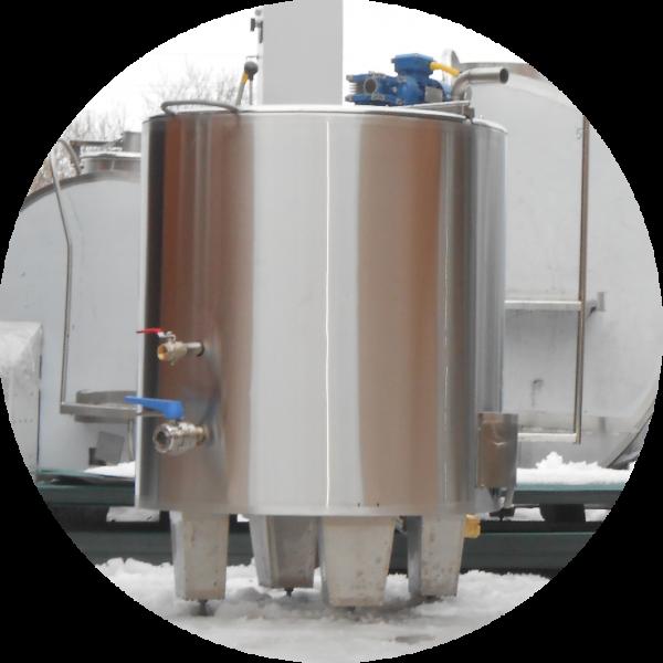 Ванна длительной пастеризации молока ВДП-600