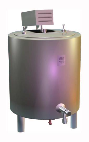 Ванна пастеризационная ОЗУ-0,35 - для молока