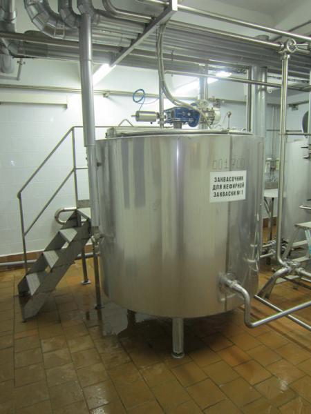 Заквасочники резервуарного типа ОЗУ-0,63 / ОЗУ-2,0 - для кефиров, йогуртов, сметаны