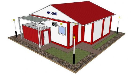 Завод модульный по переработке - до 1000 литров молока